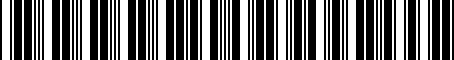 Barcode for 000052120B